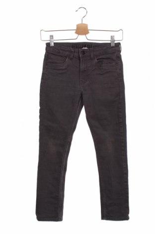 Blugi pentru copii H&M, Mărime 9-10y/ 140-146 cm, Culoare Gri, 98% bumbac, 2% elastan, Preț 51,81 Lei