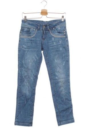 Dziecięce jeansy Multiblu, Rozmiar 10-11y/ 146-152 cm, Kolor Niebieski, 98% bawełna, 2% elastyna, Cena 66,00zł