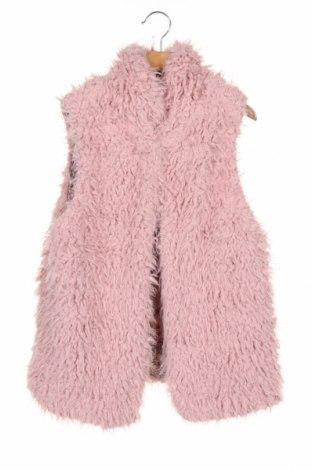 Vestă pentru copii Zara, Mărime 13-14y/ 164-168 cm, Culoare Roz, Poliester, Preț 112,74 Lei