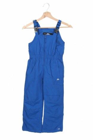 Salopetă pentru copii pentru sporturi de iarnă Trespass, Mărime 4-5y/ 110-116 cm, Culoare Albastru, Poliamidă, Preț 268,91 Lei