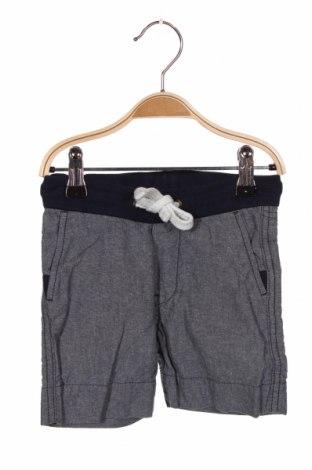 Pantaloni scurți pentru copii H&M, Mărime 18-24m/ 86-98 cm, Culoare Albastru, Bumbac, Preț 64,15 Lei