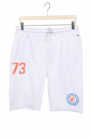 Dětské krátké kalhoty  Petrol Industries, Velikost 12-13y/ 158-164 cm, Barva Bílá, Bavlna, Cena  345,00Kč
