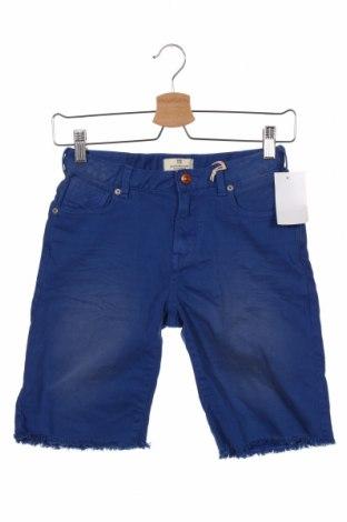 Pantaloni scurți pentru copii Scotch & Soda, Mărime 8-9y/ 134-140 cm, Culoare Albastru, 97% bumbac, 3% elastan, Preț 187,30 Lei