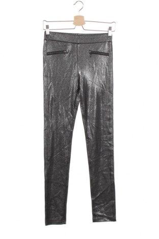 Dziecięce legginsy H&M, Rozmiar 12-13y/ 158-164 cm, Kolor Szary, 68% wiskoza, 28% poliester, 4% elastyna, Cena 72,00zł