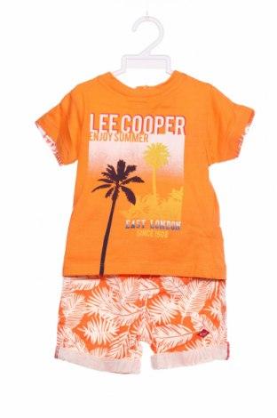 Dziecięcy zestaw Lee Cooper, Rozmiar 12-18m/ 80-86 cm, Kolor Pomarańczowy, Bawełna, Cena 84,00zł