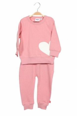 Set pentru copii Racoon, Mărime 12-18m/ 80-86 cm, Culoare Roz, 60% bumbac, 40% poliester, Preț 167,76 Lei