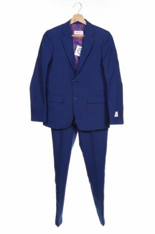 Costum pentru copii Oppo Suits, Mărime 12-13y/ 158-164 cm, Culoare Albastru, Poliester, Preț 318,26 Lei