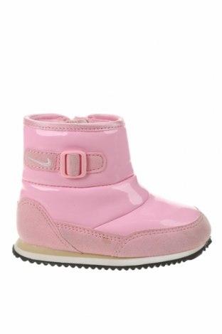 Încălțăminte pentru copii Nike, Mărime 22, Culoare Roz, Piele ecologică, textil, Preț 161,18 Lei