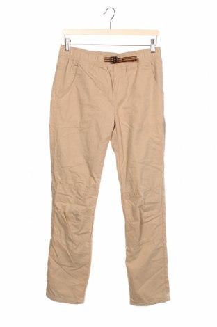 Pantaloni pentru copii Campus, Mărime 12-13y/ 158-164 cm, Culoare Bej, 70% bumbac, 30% poliamidă, Preț 59,68 Lei