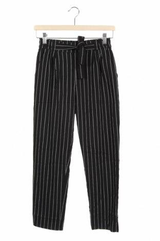 Dziecięce spodnie H&M, Rozmiar 12-13y/ 158-164 cm, Kolor Czarny, 63% poliester, 36% wiskoza, 1% elastyna, Cena 72,00zł