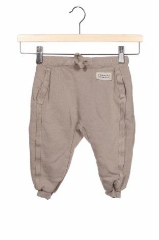 Dětské kalhoty  Zara, Velikost 18-24m/ 86-98 cm, Barva Béžová, Bavlna, Cena  275,00Kč