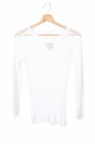 Dziecięcy sweter, Rozmiar 10-11y/ 146-152 cm, Kolor Biały, Bawełna, Cena 96,00zł