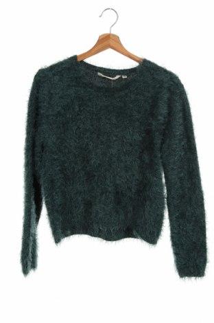 Pulover pentru copii Garcia Jeans, Mărime 15-18y/ 170-176 cm, Culoare Verde, Preț 79,58 Lei