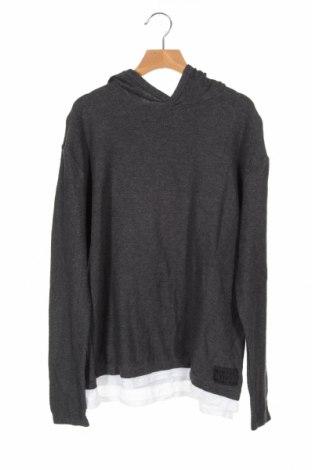 Dziecięcy sweter H&M, Rozmiar 12-13y/ 158-164 cm, Kolor Szary, Bawełna, Cena 63,00zł