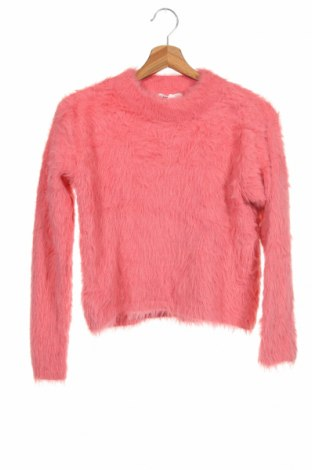 Pulover pentru copii H&M, Mărime 14-15y/ 168-170 cm, Culoare Roz, Poliamidă, Preț 92,84 Lei