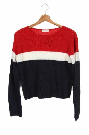 Pulover pentru copii H&M, Mărime 12-13y/ 158-164 cm, Culoare Multicolor, Acrilic, Preț 79,58 Lei