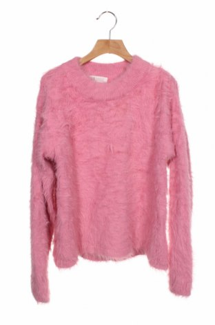 Pulover pentru copii H&M, Mărime 12-13y/ 158-164 cm, Culoare Roz, Poliamidă, Preț 59,68 Lei