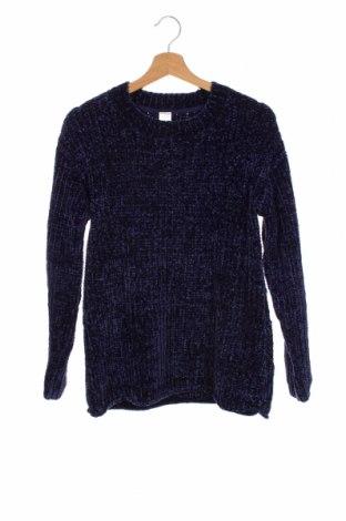 Детски пуловер Here+There, Размер 15-18y/ 170-176 см, Цвят Син, Полиестер, Цена 31,50лв.
