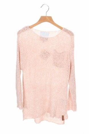 Dziecięcy sweter Lager 157, Rozmiar 8-9y/ 134-140 cm, Kolor Różowy, 65%akryl, 35% poliamid, Cena 63,00zł