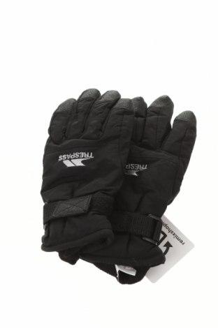 Детски ръкавици за зимни спортове Trespass, Цвят Черен, Полиамид, Цена 28,50лв.