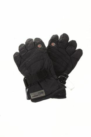 Mănuși pentru copii pentru sporturi de iarnă Trespass, Culoare Negru, Poliamidă, Preț 96,22 Lei