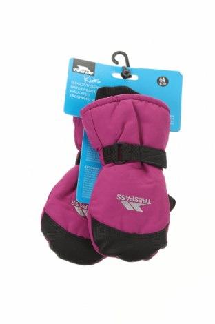 Mănuși pentru copii pentru sporturi de iarnă Trespass, Culoare Roz, Poliester, Preț 103,62 Lei