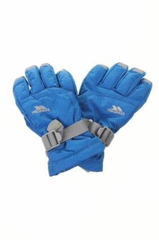 Mănuși pentru copii pentru sporturi de iarnă Trespass, Culoare Albastru, Poliester, Preț 93,75 Lei