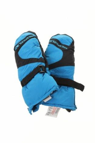 Детски ръкавици за зимни спортове Trespass, Цвят Син, Полиамид, Цена 28,50лв.