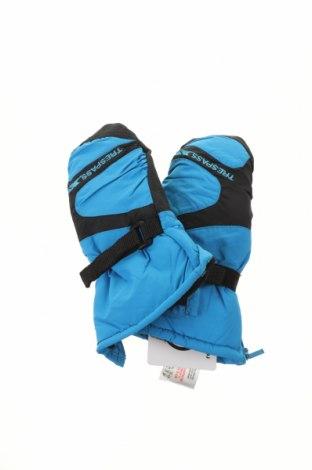 Mănuși pentru copii pentru sporturi de iarnă Trespass, Culoare Albastru, Poliamidă, Preț 93,75 Lei