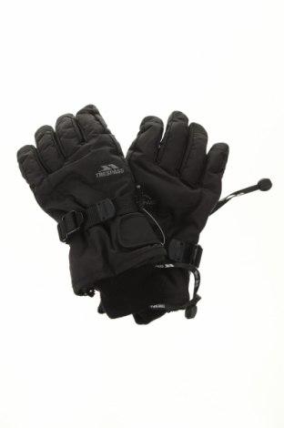 Детски ръкавици за зимни спортове Trespass, Цвят Черен, Полиестер, Цена 28,50лв.