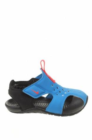 Dětské sandály Nike, Velikost 22, Barva Černá, Eko kůže, Cena  706,00Kč