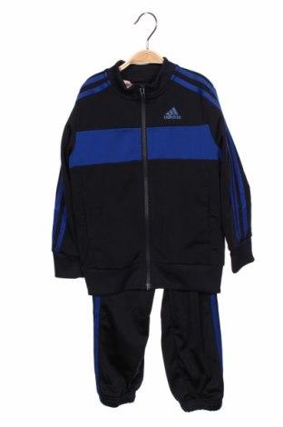 Set de sport pentru copii Adidas, Mărime 5-6y/ 116-122 cm, Culoare Albastru, Poliester, Preț 145,56 Lei