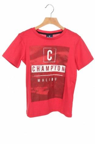 Dresy dziecięce Champion, Rozmiar 7-8y/ 128-134 cm, Kolor Czerwony, Bawełna, poliamid, Cena 138,00zł