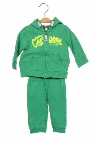Set de sport pentru copii Esprit, Mărime 3-6m/ 62-68 cm, Culoare Verde, Bumbac, Preț 118,42 Lei