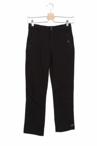 Dziecięce sportowe spodnie Trespass, Rozmiar 10-11y/ 146-152 cm, Kolor Czarny, 94% poliester, 6% elastyna, Cena 148,00zł