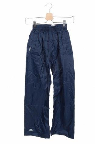 Детски спортен панталон Trespass, Размер 8-9y/ 134-140 см, Цвят Син, Полиестер, Цена 42,00лв.
