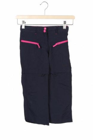 Pantaloni de trening, pentru copii Trespass, Mărime 4-5y/ 110-116 cm, Culoare Albastru, Poliamidă, Preț 133,22 Lei