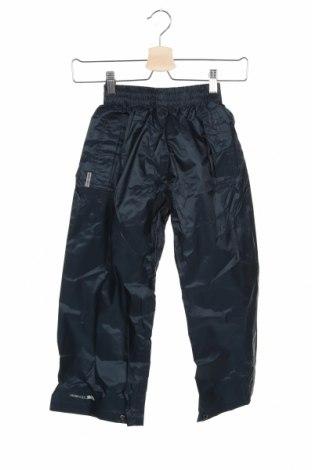 Детски спортен панталон Trespass, Размер 4-5y/ 110-116 см, Цвят Син, Полиестер, Цена 44,25лв.