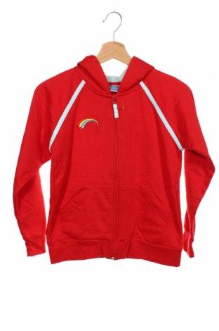 Hanorac pentru copii, Mărime 9-10y/ 140-146 cm, Culoare Roșu, 60% bumbac, 40% poliester, Preț 78,95 Lei