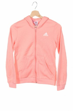 Hanorac pentru copii Adidas, Mărime 11-12y/ 152-158 cm, Culoare Roz, Poliester, Preț 177,63 Lei