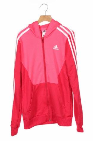 Hanorac pentru copii Adidas, Mărime 13-14y/ 164-168 cm, Culoare Roz, Preț 126,00 Lei