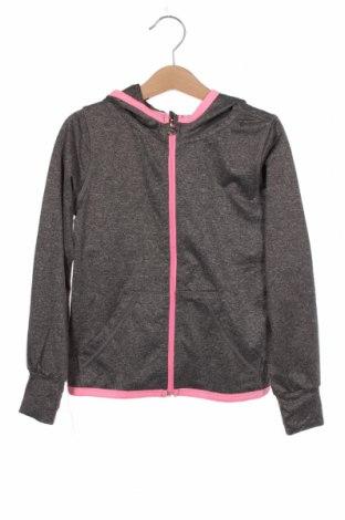 Hanorac pentru copii H&M Sport, Mărime 4-5y/ 110-116 cm, Culoare Gri, 92% poliester, 8% elastan, Preț 51,81 Lei