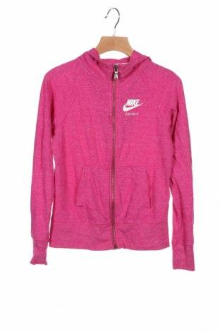 Dětská mikina  Nike, Velikost 8-9y/ 134-140 cm, Barva Růžová, 60% polyester, 40% bavlna, Cena  542,00Kč