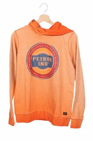 Hanorac pentru copii Petrol Industries, Mărime 15-18y/ 170-176 cm, Culoare Portocaliu, 99% bumbac, 1% viscoză, Preț 170,23 Lei