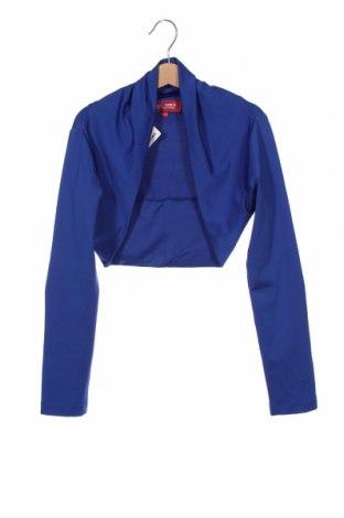 Bolero pentru copii G.o.l. Girls, Mărime 12-13y/ 158-164 cm, Culoare Albastru, 95% poliester, 5% elastan, Preț 53,05 Lei
