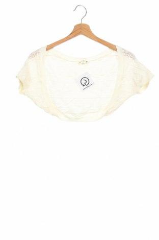 Bolero pentru copii H&M, Mărime 8-9y/ 134-140 cm, Culoare Ecru, Preț 53,05 Lei