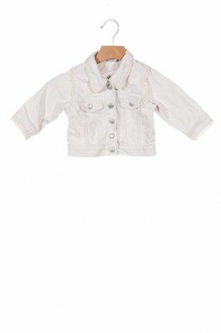 Geacă de blugi, pentru copii Marks & Spencer, Mărime 3-6m/ 62-68 cm, Culoare Gri, Bumbac, Preț 81,41 Lei
