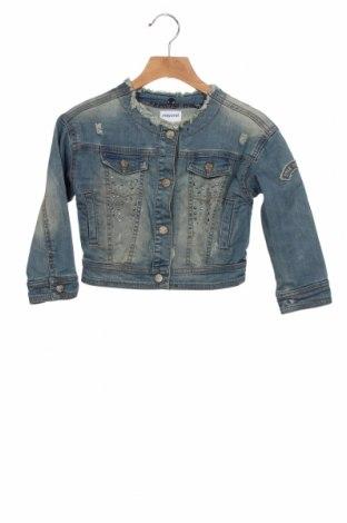 Geacă de blugi, pentru copii Mayoral, Mărime 3-4y/ 104-110 cm, Culoare Albastru, Bumbac, Preț 118,42 Lei