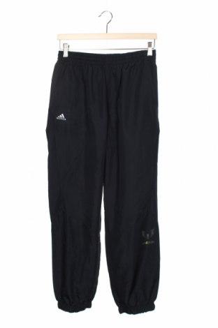 Pantaloni de trening, pentru copii Adidas, Mărime 12-13y/ 158-164 cm, Culoare Albastru, Poliester, Preț 106,11 Lei