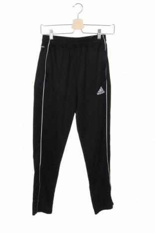 Pantaloni de trening, pentru copii Adidas, Mărime 13-14y/ 164-168 cm, Culoare Negru, Poliester, Preț 92,84 Lei